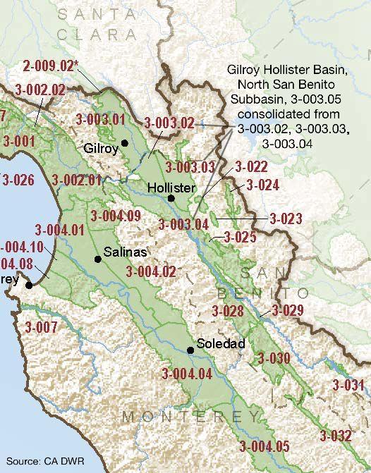 Gilroy-Hollister Valley – North San Benito